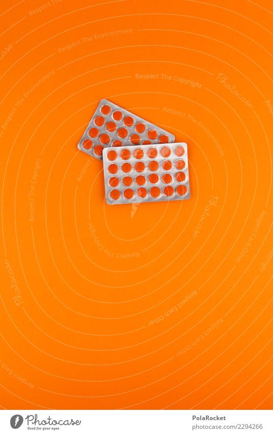 Healthy Art Orange Esthetic Many Medication Common cold Vitamin Pill Improvement Vitamin C Medicine man Medical technology