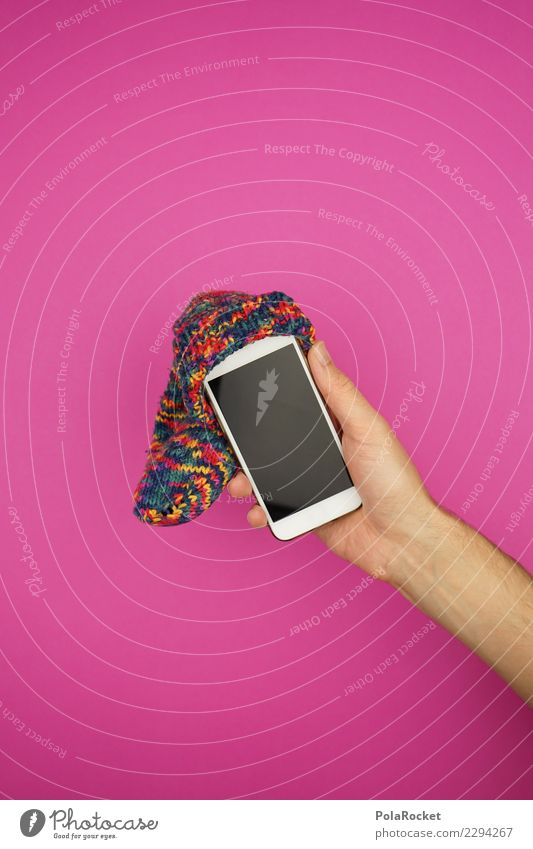 #AS# Technique Dude Cellphone Utilize Pink Art Esthetic Mobility Mobile Mobile communications Cap beanie Stockings Hand Crazy Cute Screen Waste of time