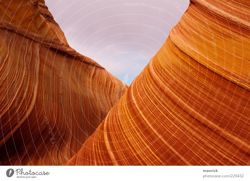 the v @ the wave Nature Beautiful Yellow Landscape Above Stone Brown Gold Rock Natural Exceptional Esthetic Authentic Uniqueness Bizarre Tourist Attraction