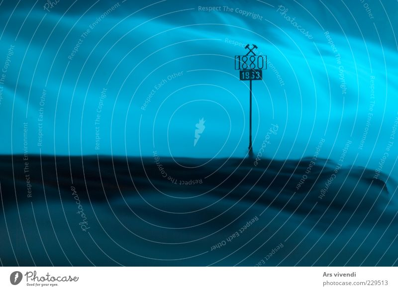 Nature Water Blue Calm Cold Environment Landscape Waves Signs and labeling Wet Wild Speed Elements Digits and numbers Clean Switzerland