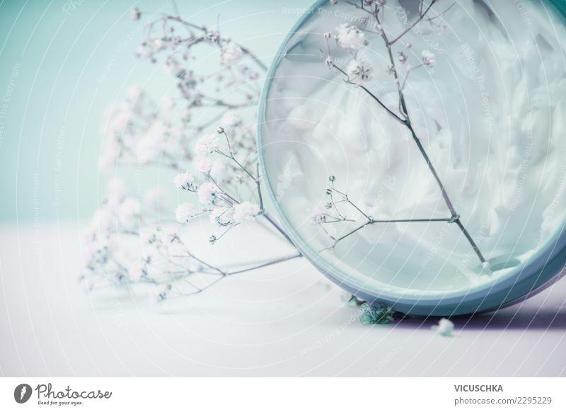 Beautiful Flower Healthy Style Design Shopping Wellness Beauty Photography Personal hygiene Cosmetics Cream Pastel tone Spa