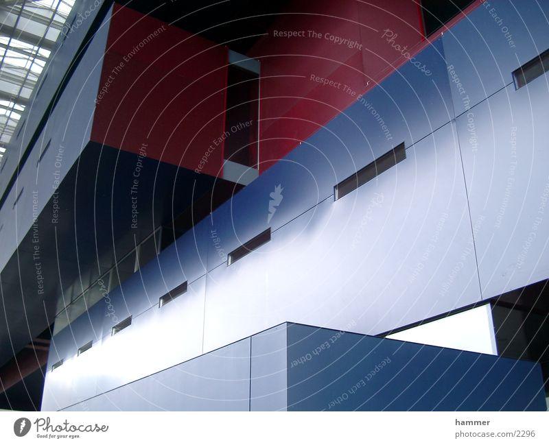 Lucerne Culture Red Building Architecture Trade fair Blue