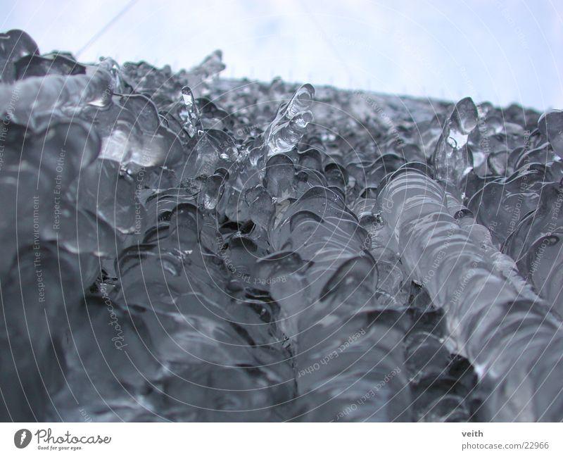 ice cream Worm's-eye view Ice structure Sky