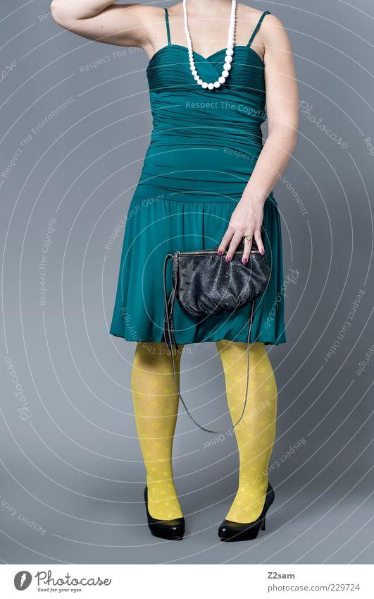 Green Beautiful Yellow Feminine Style Fashion Blonde Arm Elegant Design Modern Esthetic Crazy Stand Lifestyle Clothing