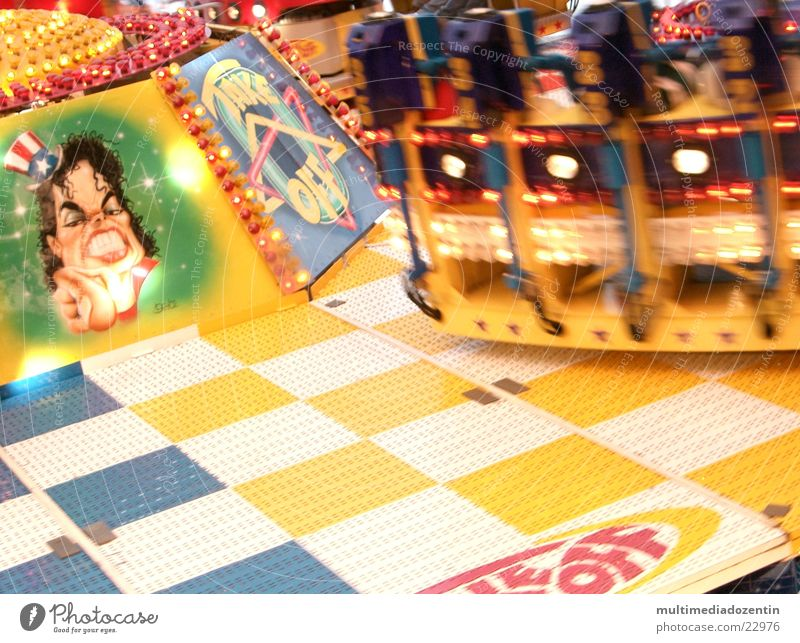 Joy Movement Happy Funny Transport Speed Circle Driving Leisure and hobbies Fairs & Carnivals Rotate Swing Rotation In transit Fair