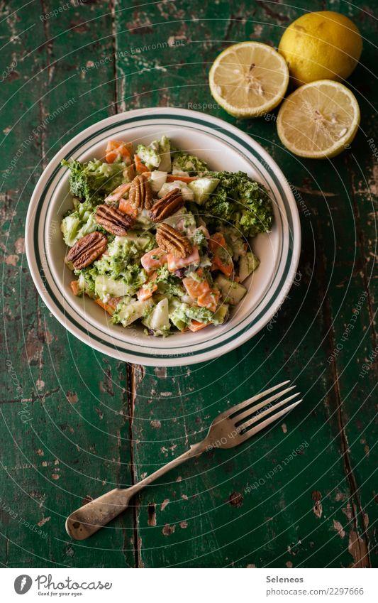 Eating Healthy Food Nutrition Fresh Delicious Vegetable Organic produce Bowl Dinner Diet Vegetarian diet Lunch Salad Lettuce Lemon