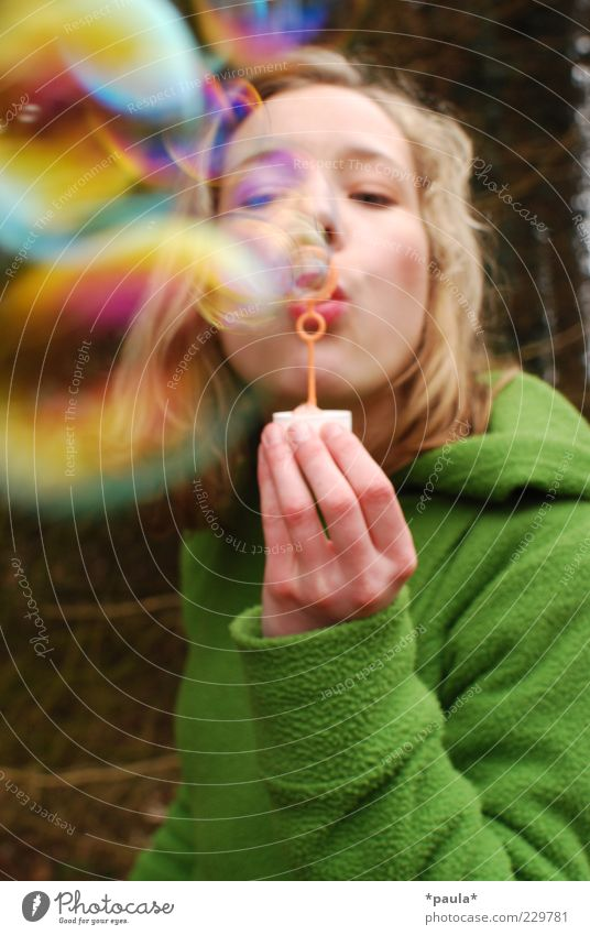 Human being Youth (Young adults) Hand Green Joy Adults Face Yellow Feminine Life Playing Head Movement Dream Brown Blonde