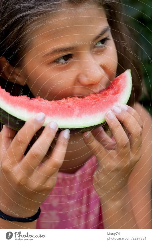 Child Human being Summer Healthy Eating Red Joy Girl Happy Garden Pink Fruit Contentment Dream Infancy Happiness