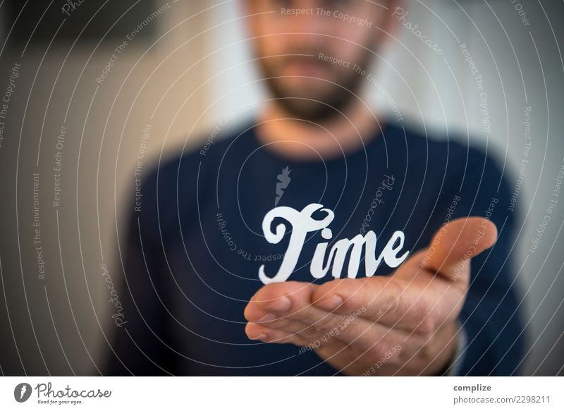 Vacation & Travel Man Hand Relaxation Calm Joy Adults Lifestyle Healthy Time Business Work and employment Clock Office Characters Fingers