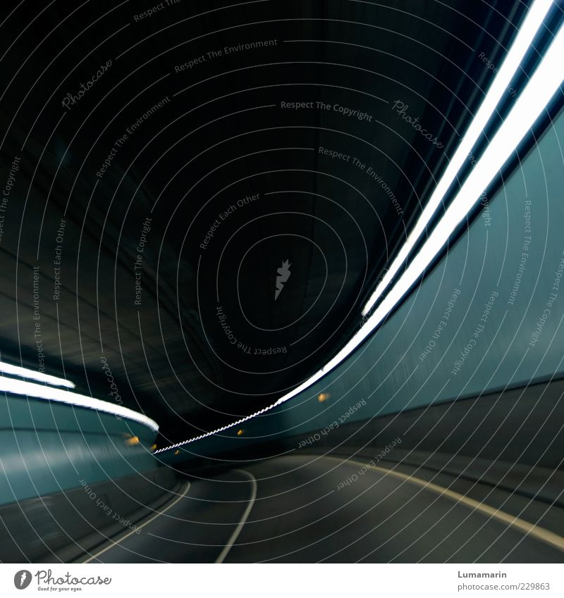 Street Cold Dark Movement Lanes & trails Moody Line Lighting Fear Concrete Beginning Modern Esthetic Speed Empty Threat