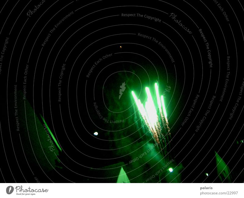 rocket Green Photographic technology Firecracker