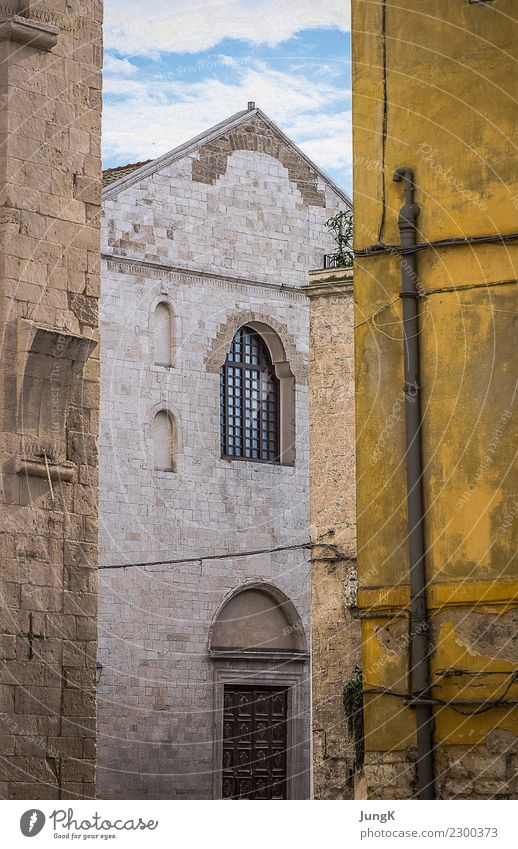 Old Town Colour Loneliness Calm Architecture Building Happy Contentment Esthetic Idyll Authentic Transience Italy Historic Past