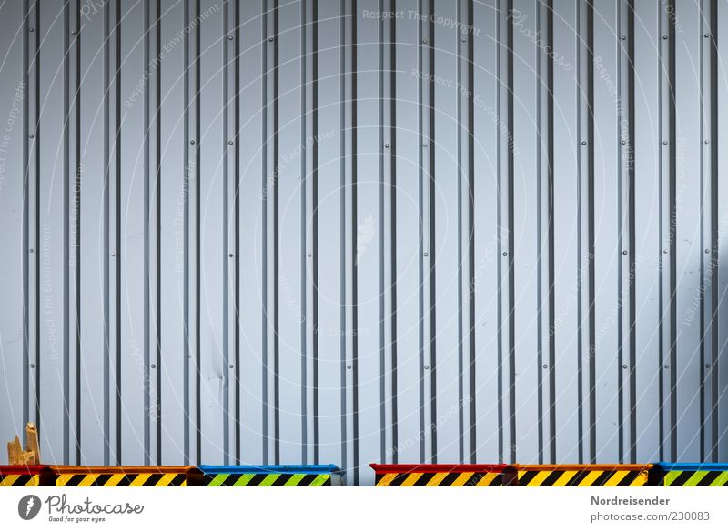 Wall (building) Architecture Wall (barrier) Building Metal Line Work and employment Background picture Facade Signs and labeling Arrangement Esthetic Signage Industry Logistics Factory
