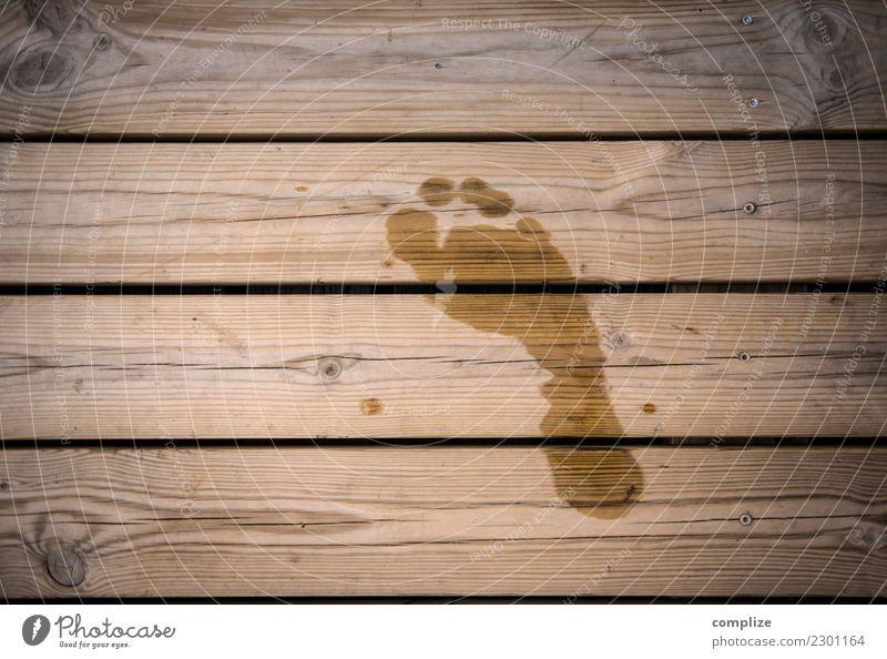 sauna walkway Healthy Wellness Life Harmonious Well-being Relaxation Calm Spa Sauna Steam bath Swimming & Bathing Summer Coast Lakeside Happy Barefoot Footprint