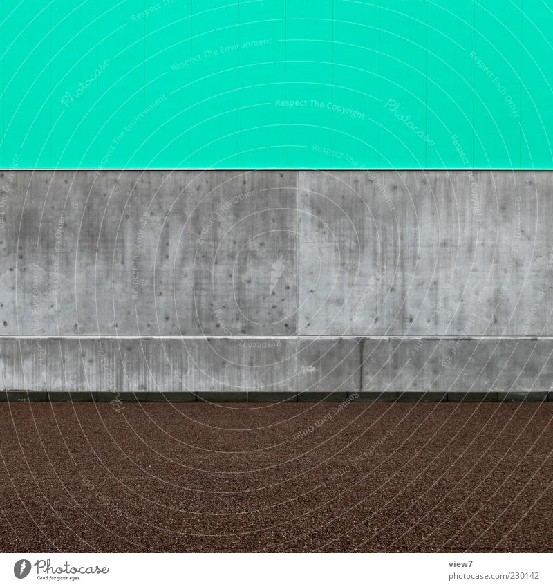 Green House (Residential Structure) Wall (building) Architecture Stone Building Wall (barrier) Line Background picture Elegant Facade Concrete Arrangement