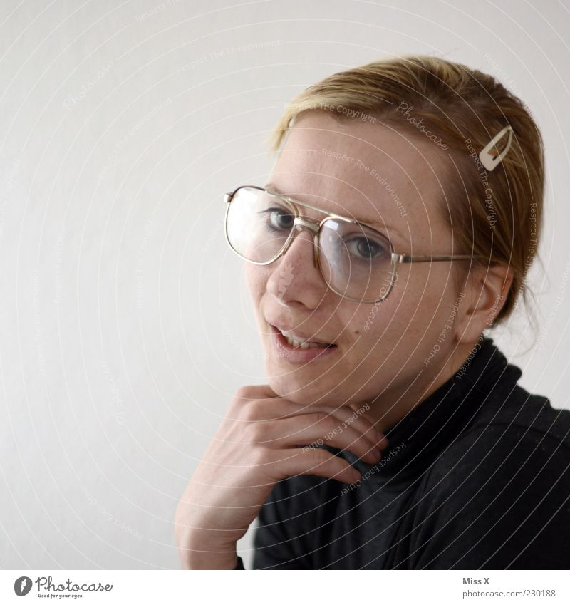 Miss Sexy Human being Feminine Young woman Youth (Young adults) Woman Adults Face 1 18 - 30 years Hideous Uniqueness Nerdy Smart Person wearing glasses