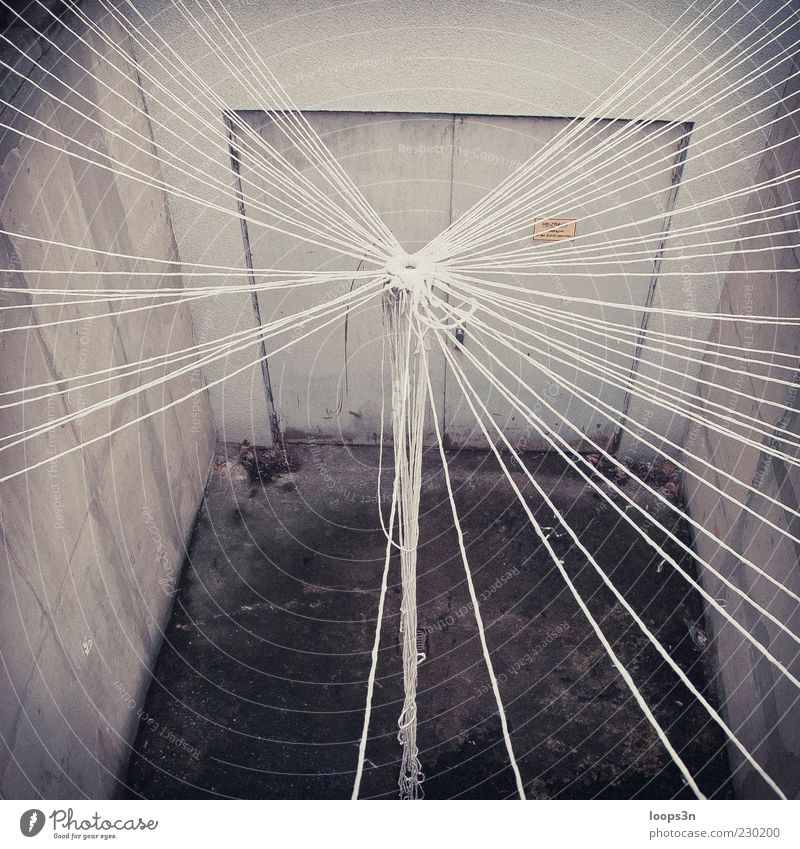 Loneliness House (Residential Structure) Cold Wall (building) Emotions Sadness Door Room Concrete Authentic Retro Net End Factory Longing String