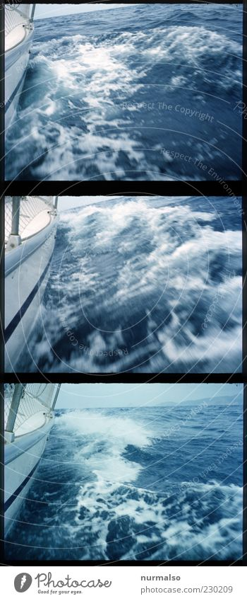 Nature Water Ocean Summer Joy Relaxation Freedom Happy Waves Wind Exceptional Lifestyle Sailing Navigation Watercraft Foam