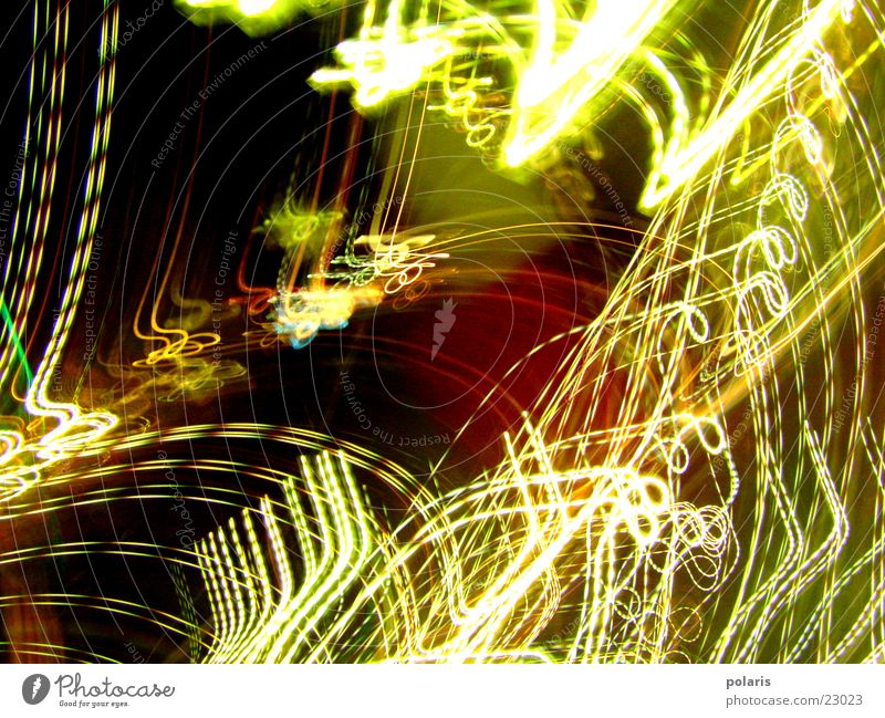 play of lights Visual spectacle Multicoloured Flashy Abstract Photographic technology Light Bright