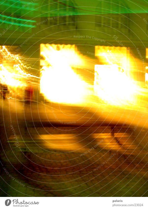 windows Evening Light Shop window Unclear Photographic technology Illuminate
