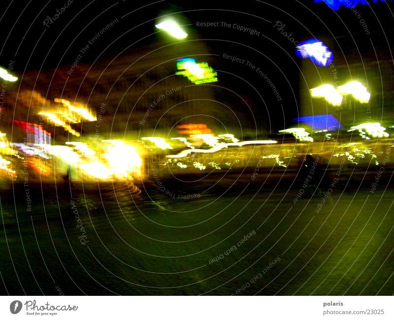 Dark Bright Visual spectacle Marketplace Karlsruhe Photographic technology