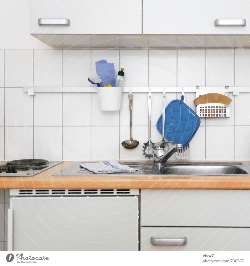Are you coming to dinner? Living or residing Flat (apartment) Arrange Decoration Kitchen Wood Line Authentic Simple Fresh Modern Positive Beautiful White