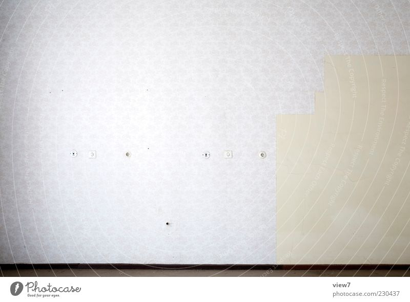 Nothing + + Flat (apartment) Wallpaper Room Wall (barrier) Wall (building) Concrete Ornament Line Stripe Old Thin Free Uniqueness Cold Retro White Beginning