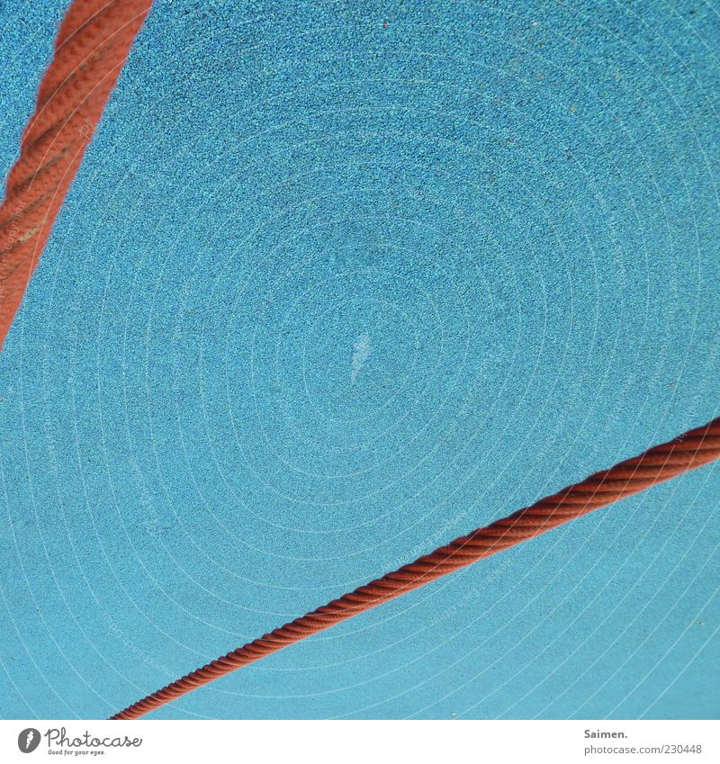 Red Colour Dye Line Rope Perspective Ground Turquoise Graphic Playground Rubber Subsoil Pattern Light Free space Rubber floor