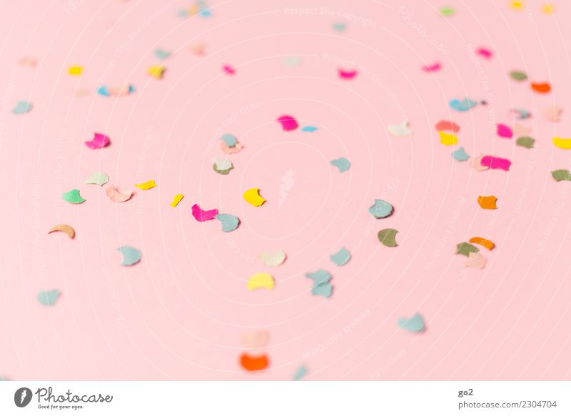 confetti Party Feasts & Celebrations Pink Happiness Event Anticipation Entertainment