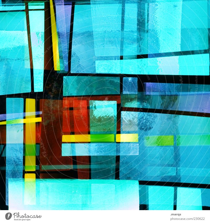Colour Style Line Art Glass Design Crazy Exceptional Perspective Lifestyle Illuminate Decoration Uniqueness Whimsical Chaos Double exposure
