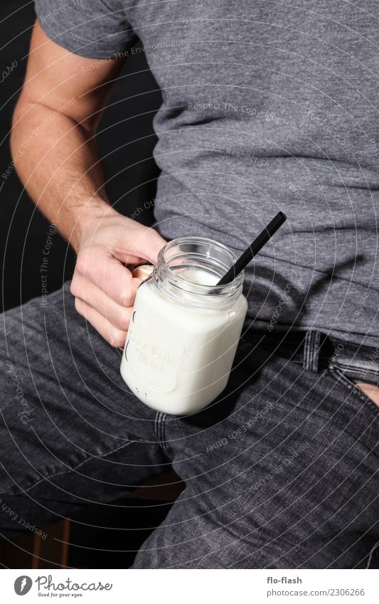 McMILK II Human being Youth (Young adults) Man Young man White Eroticism Black Adults Life Food Design Masculine Nutrition Glass Beverage Wellness