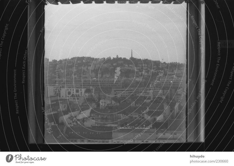 picture in picture. Town Capital city Downtown House (Residential Structure) Building Old Authentic Nostalgia Square Window View from a window