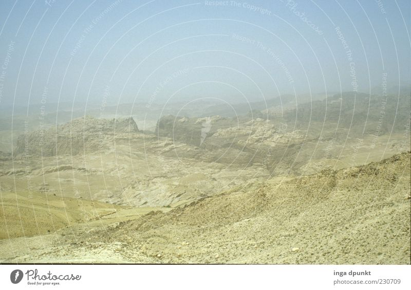 Negev Desert Calm Far-off places Freedom Mountain Environment Landscape Earth Summer Climate change Warmth Drought Hill Rock Canyon Lanes & trails Dry
