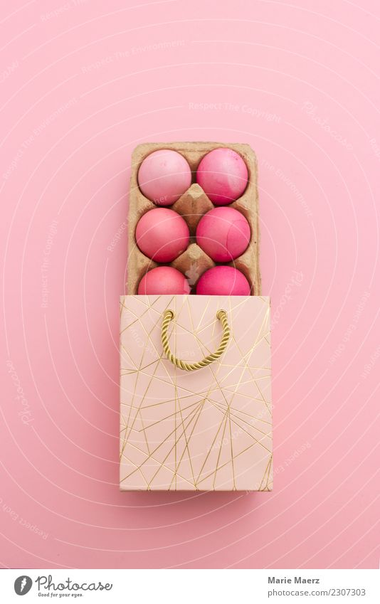 Give away Easter eggs Food Egg Design Eating Feasts & Celebrations Esthetic Elegant Fresh Beautiful Pink Joy Inspiration Donate Gift Colour Multicoloured