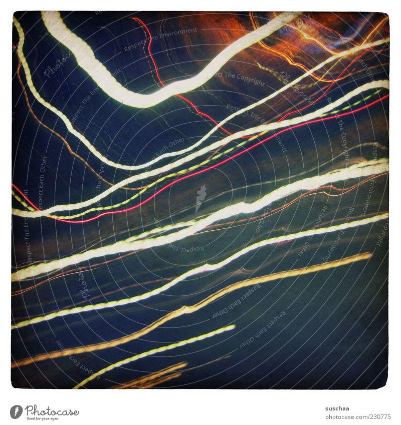 Blue Line Illuminate Stripe Abstract Light Multicoloured Night Strip of light