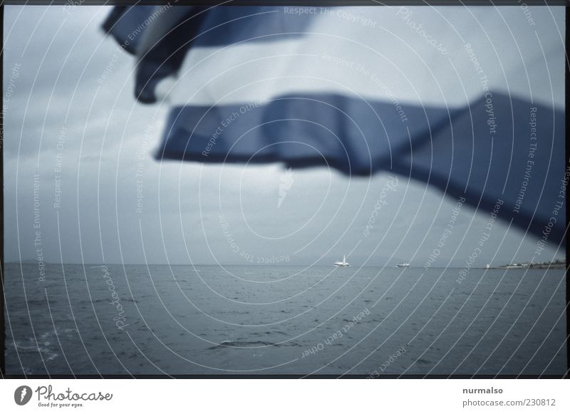 Nature Water Ocean Landscape Gray Moody Weather Waves Island Climate Lifestyle Flag Sign Navigation Blow Greece