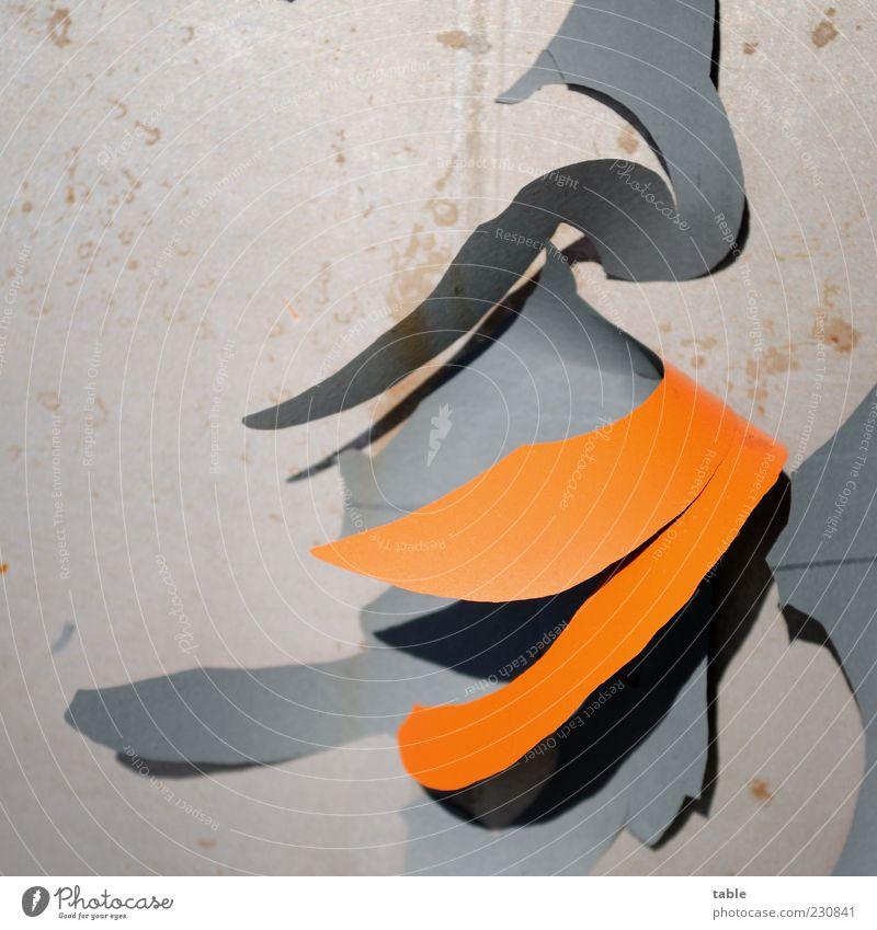 Old Colour Gray Orange Metal Change Transience Derelict Decline Plastic Hang Destruction Tin Copy Space Flake off Paintwork