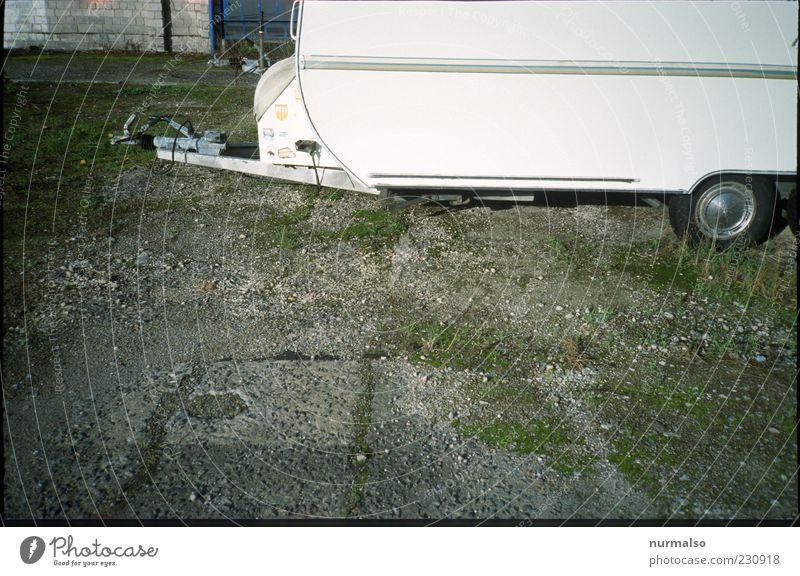 Summer Grass Lifestyle Camping Wheel Parking Tire Gravel Tradition Partially visible Caravan Cheap Trailer