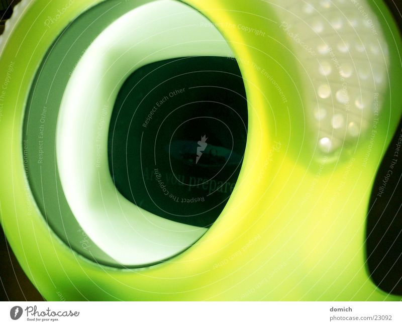 Green Yellow Style Design Technology Round Statue Plastic Screen Trade fair Exhibition Stuttgart Presentation Baden-Wuerttemberg Electrical equipment