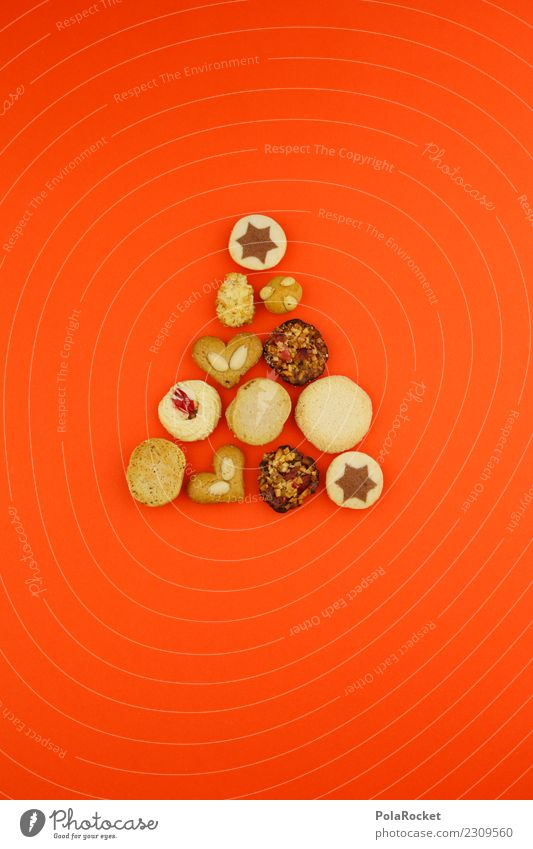 # A # cookie tree Food To enjoy Stars Cookie Christmas & Advent Orange Many Tree Esthetic Creativity Heart Almond Markets Baking Christmas Fair Sweet Arrow
