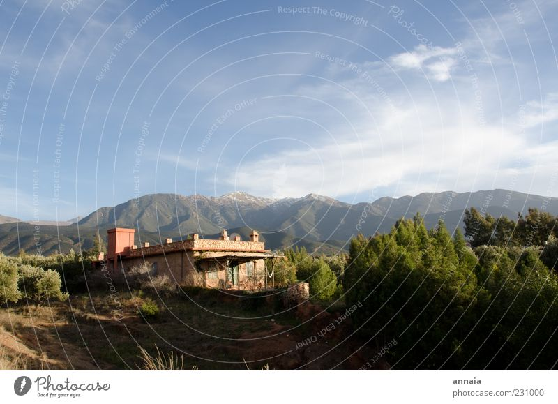 Nature Vacation & Travel Mountain Landscape Travel photography Africa Uniqueness Exceptional Beautiful weather Morocco Vacation home Dream house