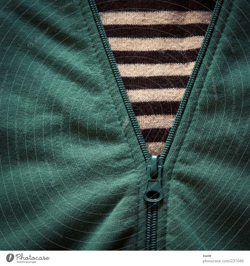 Green Clothing Stripe Wrinkles Jacket Sweater Textiles Close Undo Cotton Zipper Pattern Cloth pattern