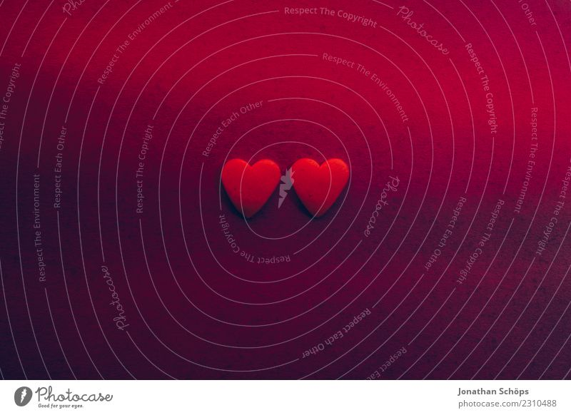 two hearts on paper for Valentine's Day Red Eroticism Joy Background picture Love Emotions Pink Together Heart Paper Violet Graphic Lovers Connection Date