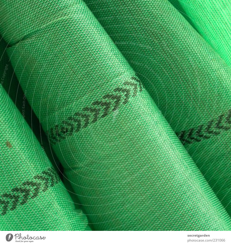 Green Cloth Plastic Wrinkles Arrow Material Upward Covers (Construction) Folds Cloth pattern Trend-setting Folded cloth