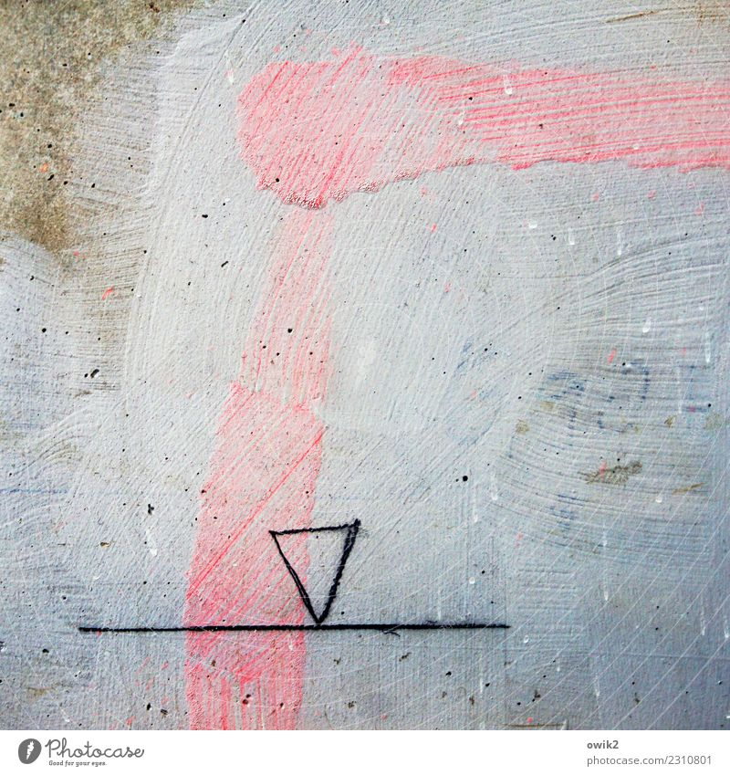 Simmental Blue Black Art Brown Pink Line Simple Painting and drawing (object) Patch Drawing Geometry Work of art Puzzle Obscure Unclear Triangle