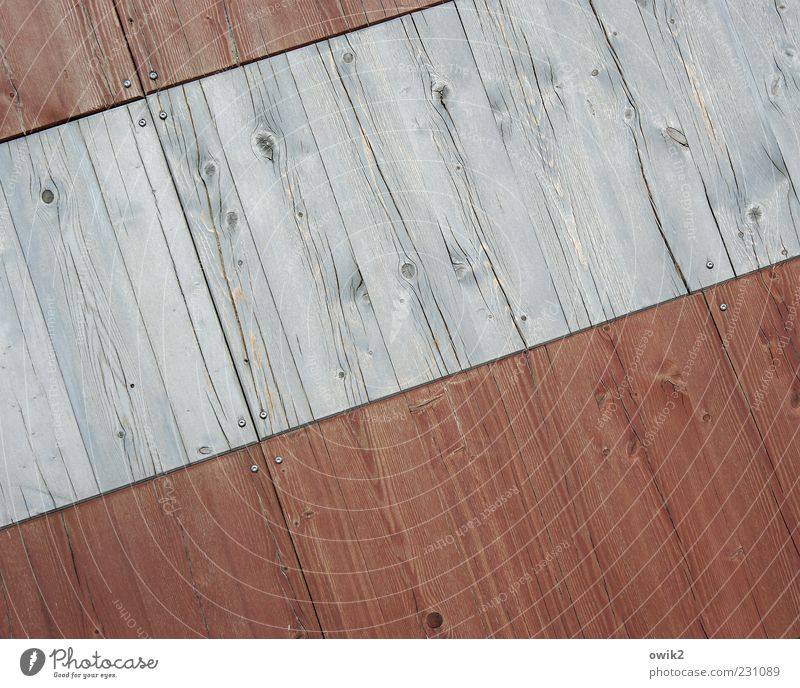 Wall (building) Wood Gray Building Wall (barrier) Line Bright Design Esthetic Gloomy Uniqueness Simple Parallel Tilt Wood grain Wooden wall
