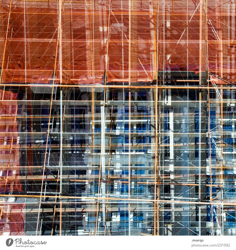 Architecture Line Exceptional Crazy Future Change Uniqueness Whimsical Muddled Double exposure Surrealism Scaffold Advancement