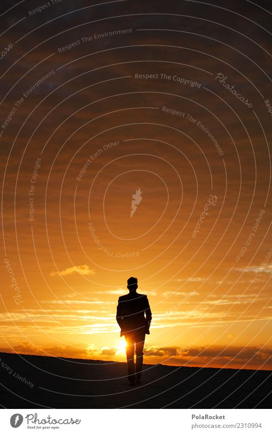 #AS# into the future Art Esthetic Walking Running sports Desert Suit Far-off places Belief Religion and faith Hope Business Career Experience Sunset Silhouette