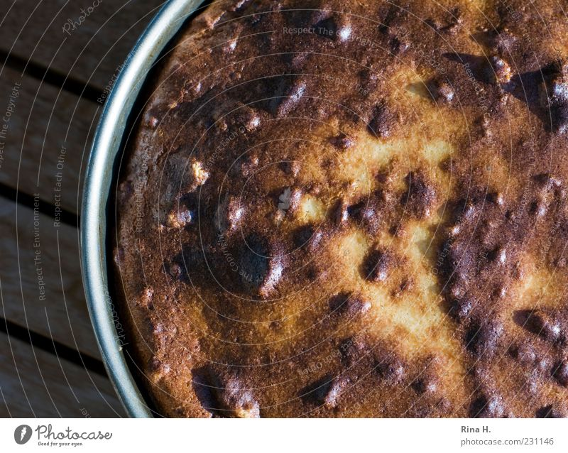 Fresh Cooking & Baking Round Cake Delicious Appetite Fragrance Baked goods Juicy Partially visible Dough Food photograph Baking tin