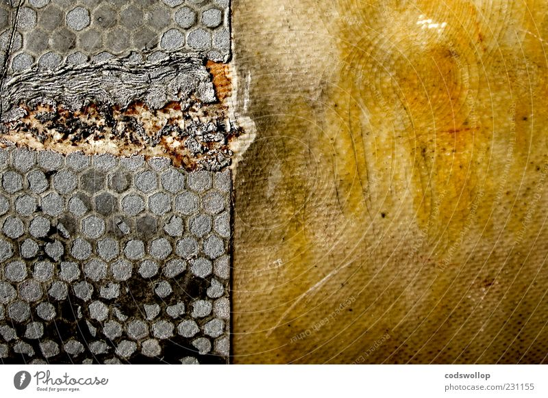 Yellow Gray Background picture Dirty Energy Broken Floor covering Exceptional Derelict Decline Destruction Environmental pollution Abrasion Pattern Damage Abstract